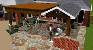 outdoor patio deck modern backyard designs with and white pergola