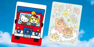animal crossing is getting hello kitty branded amiibo cards