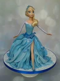 let it go elsa doll cake 70 excluding doll feeds 40 45