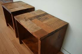 tables and benches barnwood in design