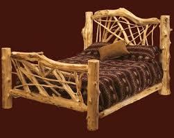 viac ako 10 najlepších nápadov na pintereste na tému log bed frame
