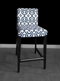 Bar Chair Covers Navy Ikea Bar Stool Cover Ikea Henriksdal Cover Kitchen Ideas