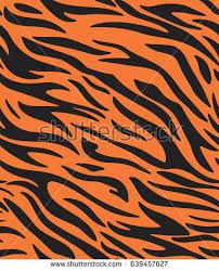 tiger stripe pattern stock vector 639457627