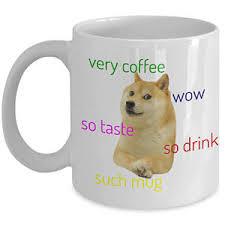 Dogee Meme - doge mug etsy