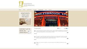 apartments middlesbrough website design web design 360fusion