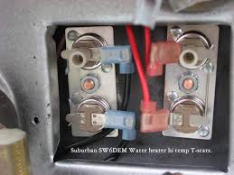 water heater only works w gas forest river forums