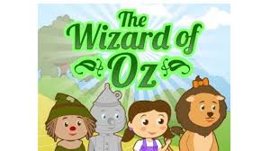 wizard oz story picture book kids free printable