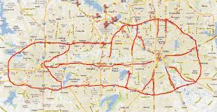 fort worth map a map of dallas fort worth highway systems looks like a
