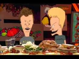beavis and butthead explain the meaning of thanksgiving