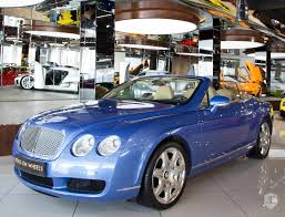 bentley convertible blue 2008 bentley continental gtc in dubai united arab emirates for