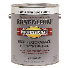 shop rust oleum professional white semi gloss semi gloss oil based
