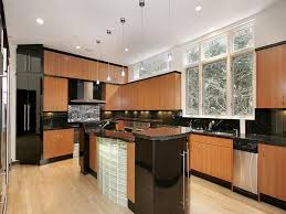Black And Brown Kitchen Cabinets Island Cabinets Cabinet Shelving Black Brown