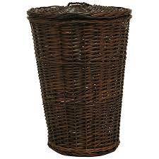 wooden laundry hamper with lid amazon com 3105 hamper espresso 3105esp home u0026 kitchen