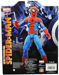 marvel select spectacular spider man figure revealed marvel toy
