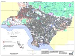 Los Angeles County Map by Radon At Tahoe Radon Maps