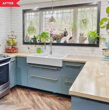 ikea wood kitchen cabinets blue ikea cabinet kitchen reno apartment therapy