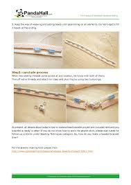 bracelet making instructions how to make a bead bracelet out of swaro u2026