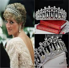 wedding crowns shining beaded crystals wedding crowns 2016 bridal tiara