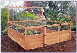 raised bed garden kits cedar garden home design ideas