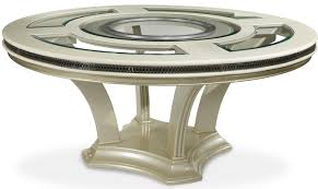 Jane Seymour Furniture Collection Hollywood Swank Michael Amini Hollywood Swank Round Dining Table Wayfair