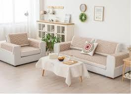 3 Seat Sectional Sofa 90cm Modern Sofa Cover Slipcover Cotton Armrest Sofa Towel Single