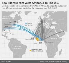 west africa map ebola why an ebola flight ban wouldn t work fivethirtyeight