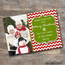 personalized christmas cards artfire markets