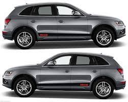 Audi Q5 Suv - audi q5 tfsi fsi tdi sq5 quattro s line sticker suv v3 infinity270