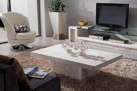 Contemporary White Coffee Table by Home Design Ideas Classy Marble Surface In Coffee Table Design