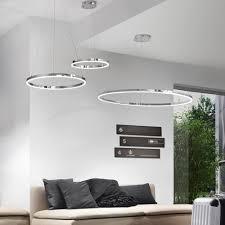 hängeleuchten wohnzimmer ring m led hängeleuchte ø 60 cm chrom wohnzimmer hängele