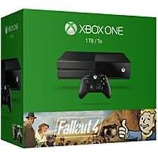 microsoft xbox one kinect bundle 500gb black console 7uv 00239 microsoft xbox one fallout 4 bundle 1tb black console ebay