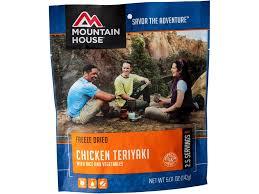 Mountain House Food by Mountain House Chicken Teriyaki Rice Freeze Dried Food Mpn 53124