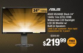black friday monitor newegg com 72hr black friday preview 9hrs 5 off site wide
