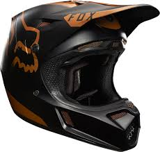 fox motocross clothing fox racing 2017 v3 moth le helmet copper fox racing