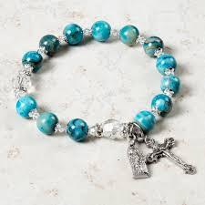 bracelet rosary st s rosary bracelet the catholic company
