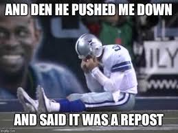 Tony Romo Meme Images - sad tony romo memes imgflip