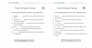 past simple consolidation worksheet photocopiables