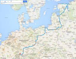 Std Map Meine 1 Bildungs Reise Sabbatical Andreas Bischoff