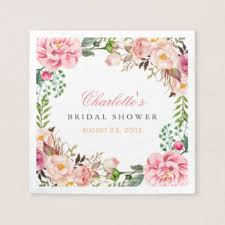 bridal shower wrapping paper bridal shower paper napkins zazzle