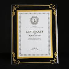 document frame 2 units pack glass document frame certification frame