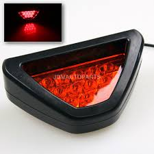 2008 honda civic third brake light new ez add on rear bumper f1 style diffuser red triangle led 3rd