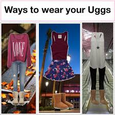 ugg s boots chestnut ways to wear your ugg boots polyvore