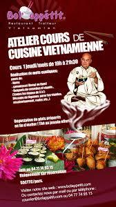 cuisine sur cours st etienne atelier de cours de cuisine vietnamienne à etienne au bol appé