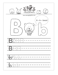 letter b worksheets u2013 wallpapercraft