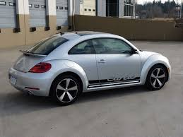 volkswagen bug 2013 vw volkswagen beetle turbo 2012 2016 decal porche script turbo