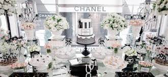 30th Birthday Dinner Ideas Kara U0027s Party Ideas Chanel Party Archives Kara U0027s Party Ideas