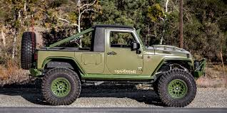 electric jeep conversion green iguana wrangler truck