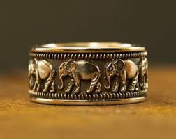 silver elephant ring holder images Elephant ring etsy jpg