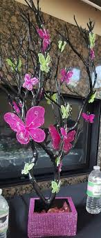 butterfly centerpieces 80 best graceful events creations images on pink