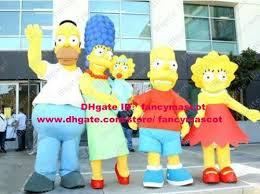 Lisa Simpson Halloween Costume Felicific Yellow Homer Marge Bart Lisa Maggie Simpson